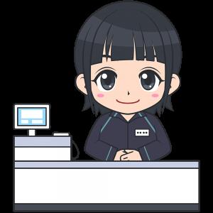 コンビニのレジ店員(ファミリーマート-2)