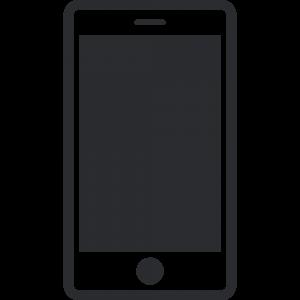 スマートフォンのアイコンイラスト2無料フリー