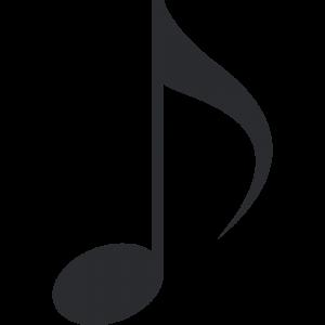 8分音符のイラスト【無料・フリー】
