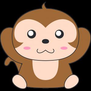 聞かザル(猿)