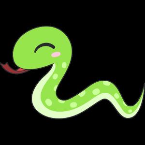 かわいいヘビ(蛇)