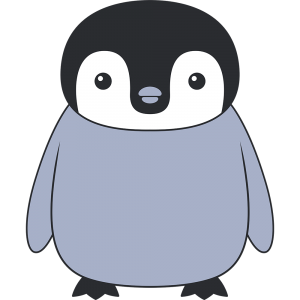 コウテイペンギンのヒナ(鳥)