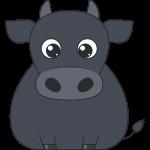 牛のイラスト【無料・フリー】