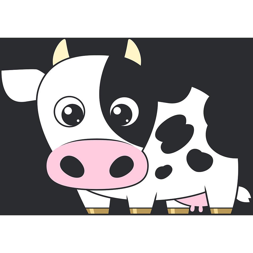 乳牛のイラスト(2)【無料・フリー】