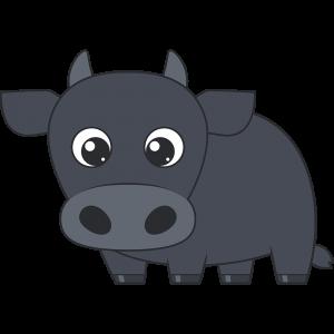 牛のイラスト(2)