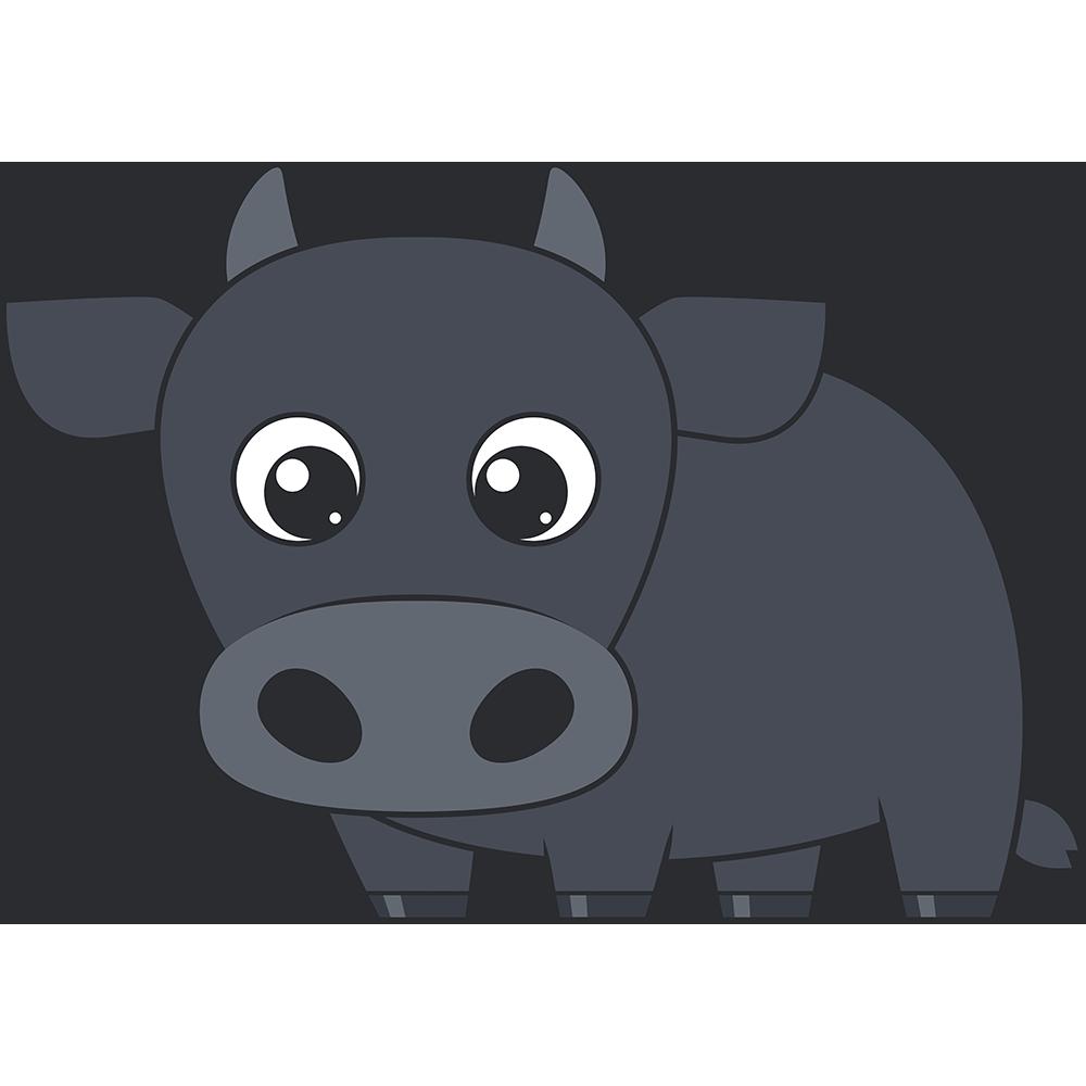 牛のイラスト(2)【無料・フリー】