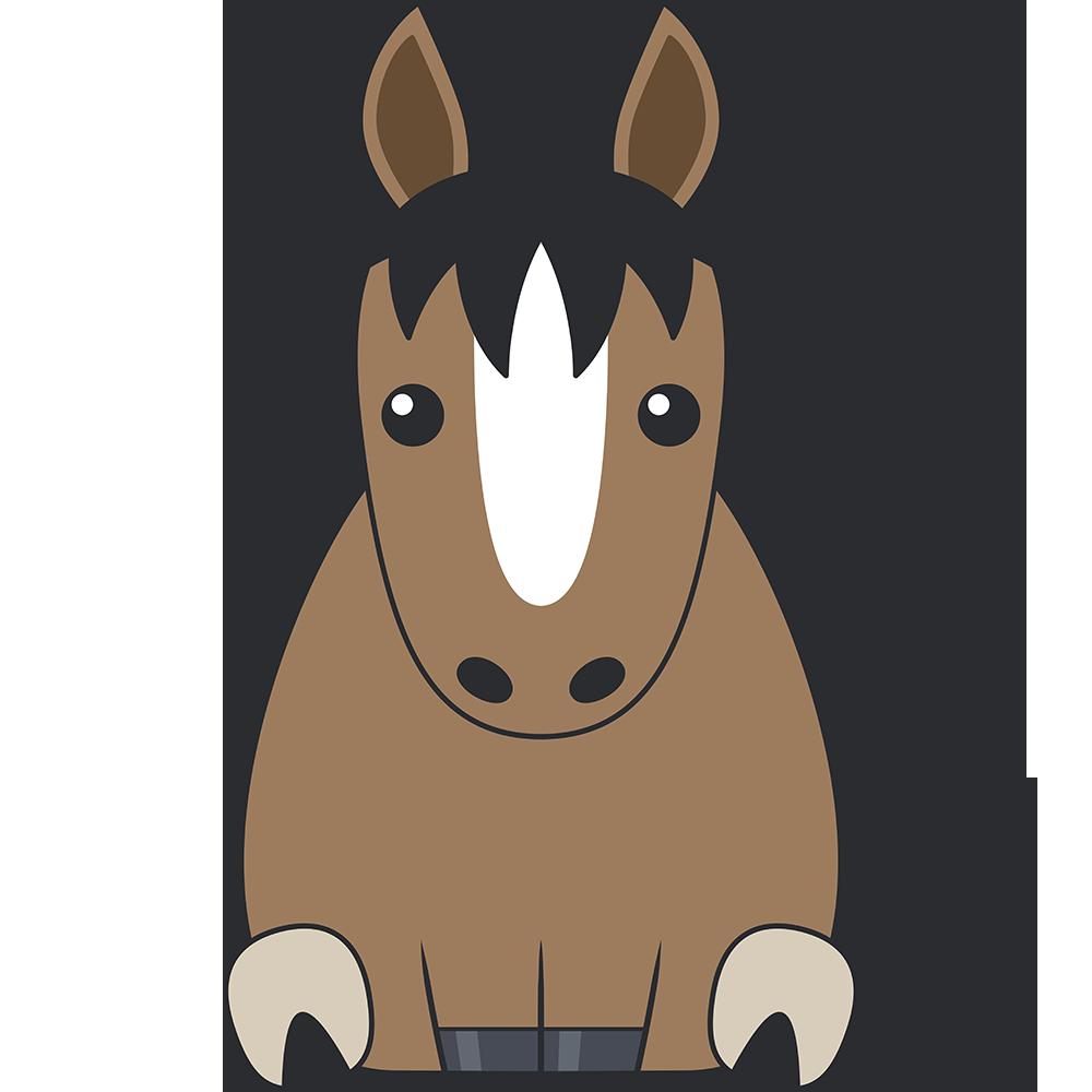 馬のイラスト【無料・フリー】