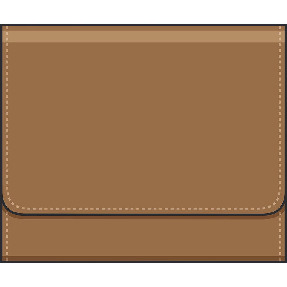 二つ折り財布のイラスト【無料・フリー】
