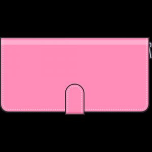 レディース用長財布のイラスト【無料・フリー】