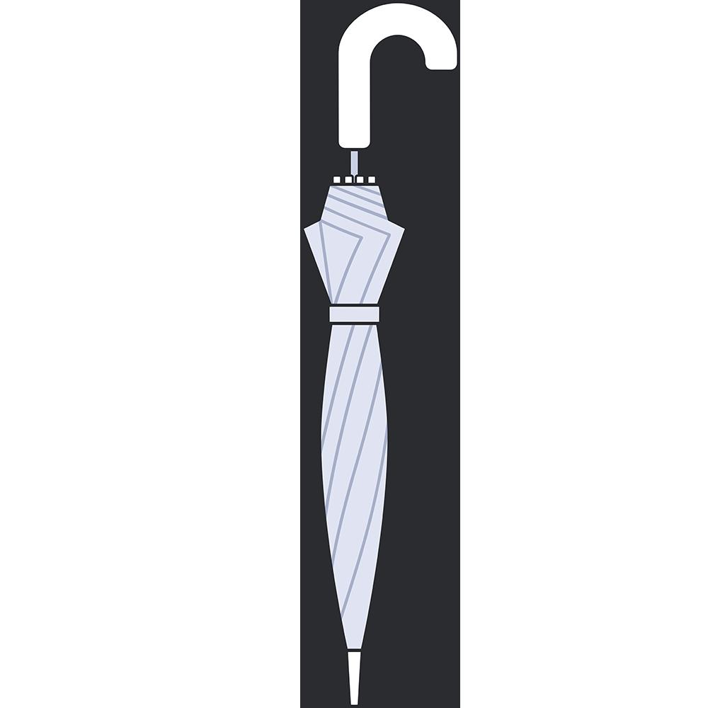 ビニール傘のイラスト【無料・フリー】
