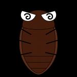 死んだゴキブリのイラスト【無料・フリー】