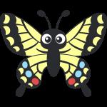 アゲハチョウ(蝶)のイラスト【無料・フリー】