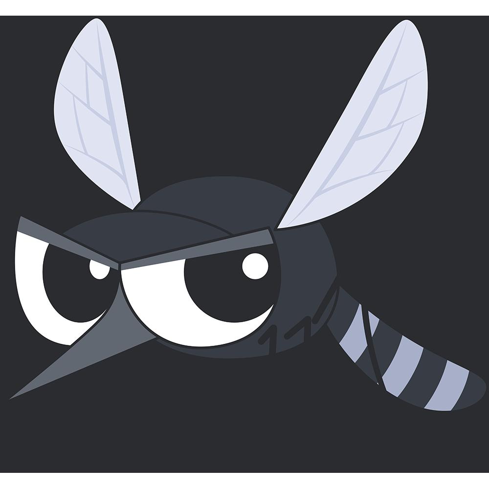 蚊のイラスト【無料・フリー】