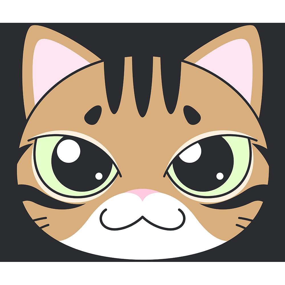 ベンガル 猫 の顔イラスト 無料 フリー