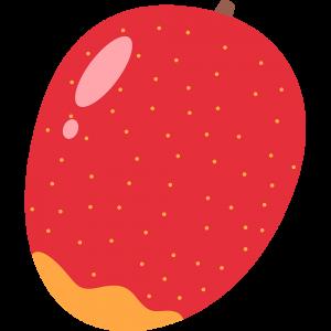 マンゴーのイラスト【無料・フリー】