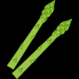 アスパラガス(野菜)のイラスト【無料・フリー】