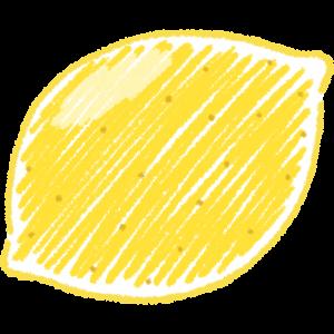 レモンの手書きイラスト【無料・フリー】
