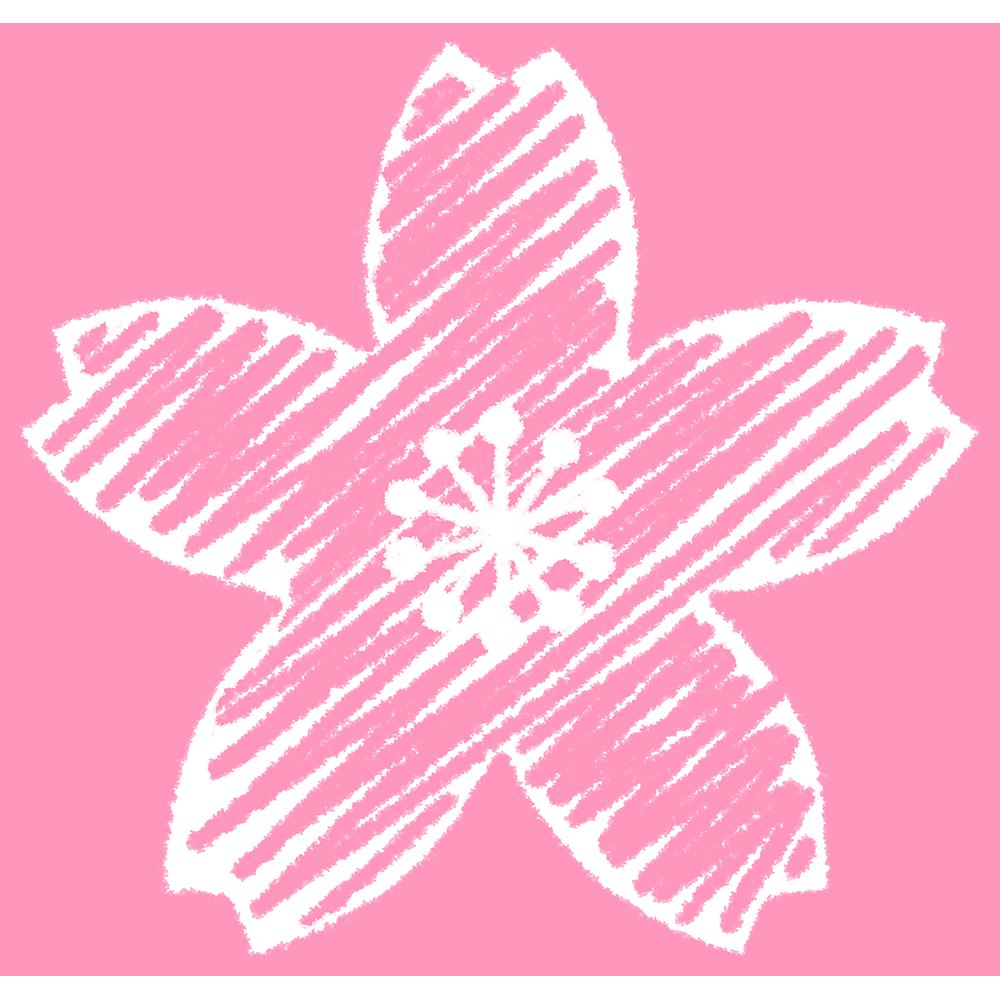 桜の花の手書きイラスト【無料・フリー】