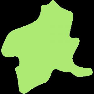 群馬県の地図のイラスト【無料・フリー】