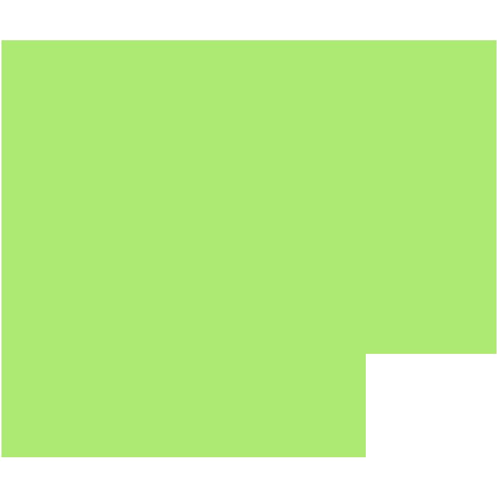 福井県の地図の無料イラスト