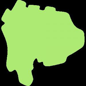 山梨県の地図のイラスト【無料・フリー】