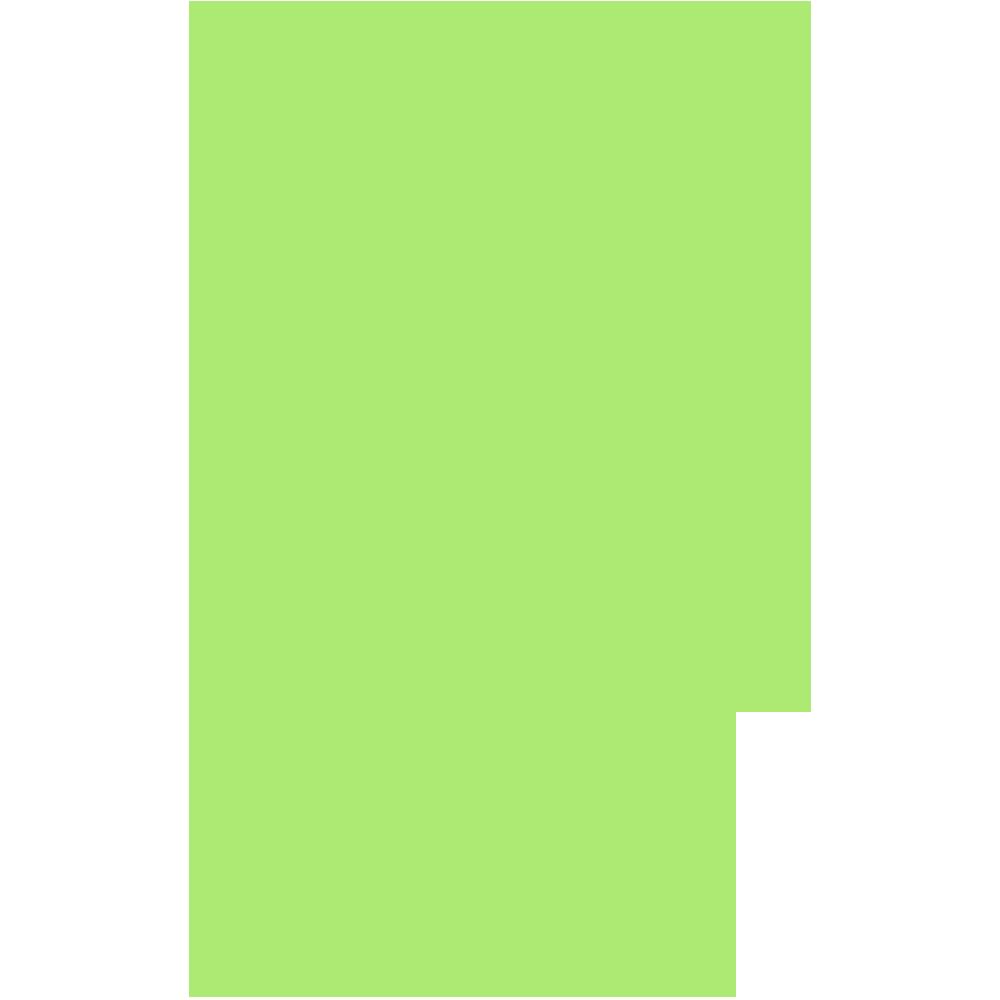 長野県の地図の無料イラスト