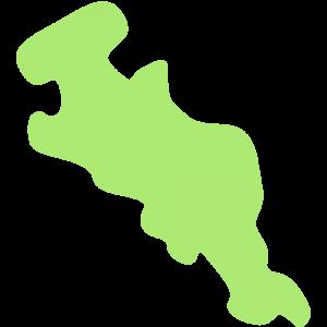 京都府の地図のイラスト【無料・フリー】