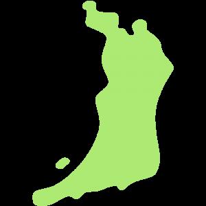 大阪府の地図のイラスト【無料・フリー】