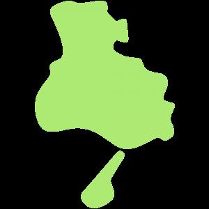 兵庫県の地図のイラスト【無料・フリー】