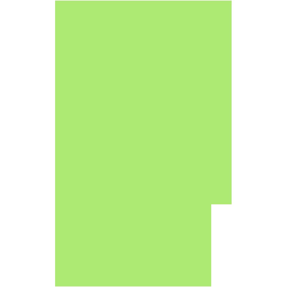 奈良県の地図の無料イラスト