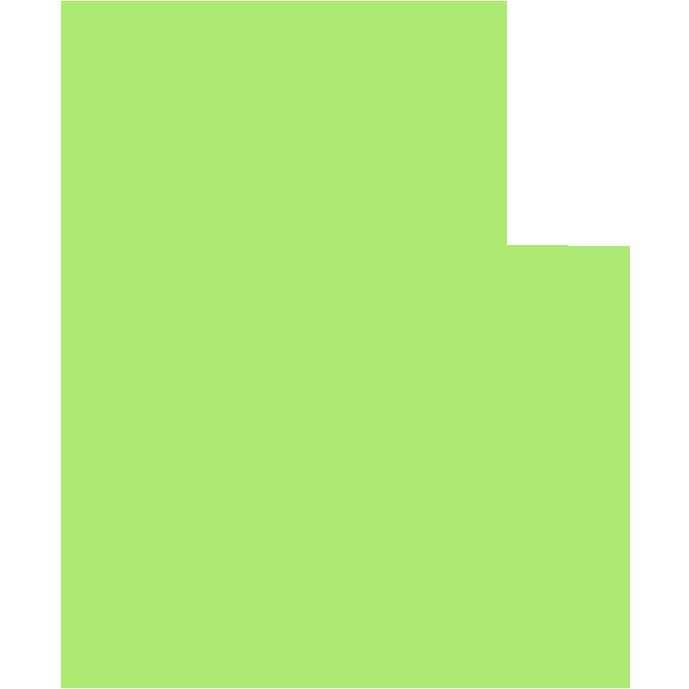 和歌山県の地図の無料イラスト