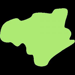 徳島県の地図のイラスト【無料・フリー】