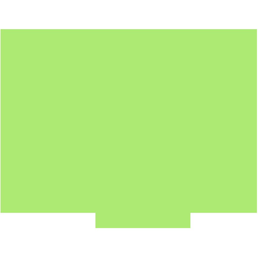 徳島県の地図の無料イラスト