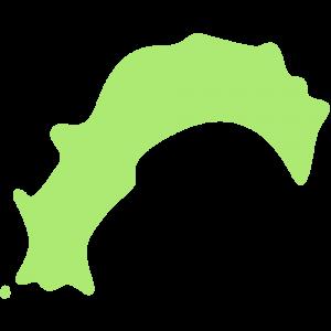 高知県の地図のイラスト【無料・フリー】