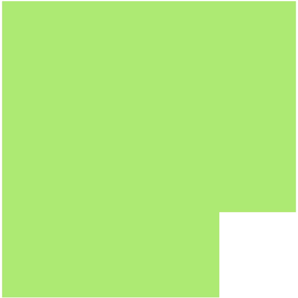 福岡県の地図の無料イラスト