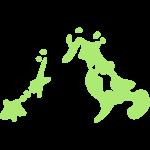 長崎県の地図の無料イラスト