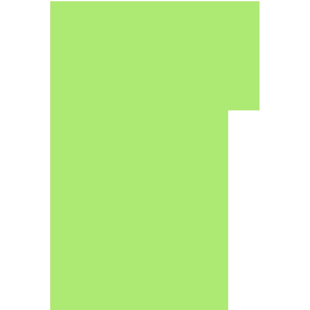 宮崎県の地図の無料イラスト