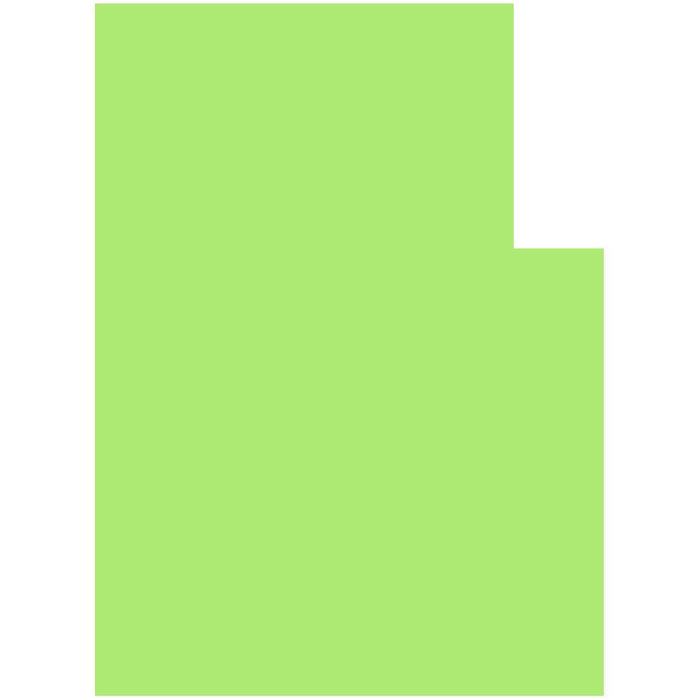 鹿児島県の地図の無料イラスト