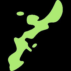 沖縄県の地図のイラスト【無料・フリー】