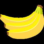 バナナのイラスト【無料・フリー】