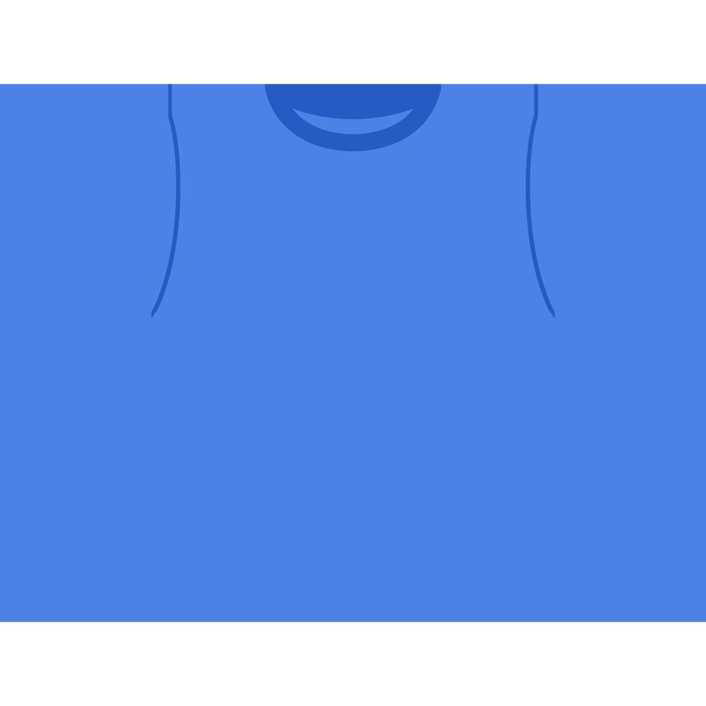 青いTシャツのイラスト【無料・フリー】