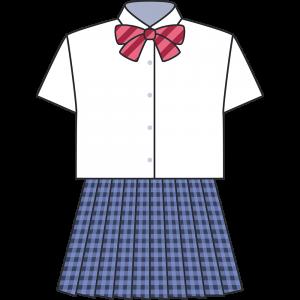 女子高生のブレザー(夏服)
