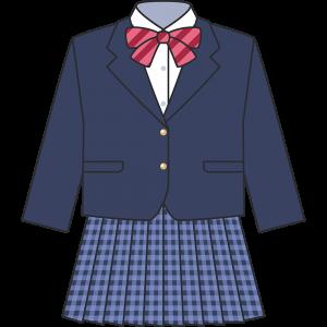 女子高生のブレザー(冬服)