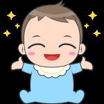 赤ちゃんのイラスト【無料・フリー】