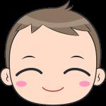 赤ちゃんの顔イラスト【無料・フリー】