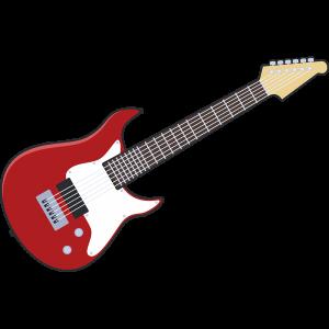 エレキギター のイラスト【無料・フリー】