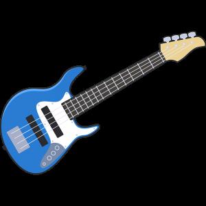 ベースギター のイラスト【無料・フリー】