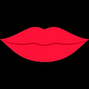 口・唇のイラスト【無料・フリー】