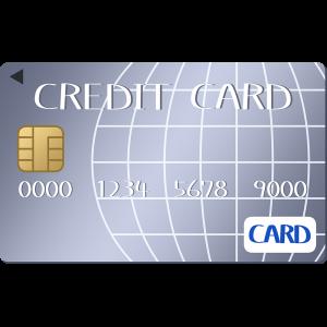 シルバー・プラチナのクレジットカードのイラスト【無料・フリー】