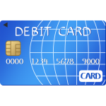 デビットカードのイラスト【無料・フリー】